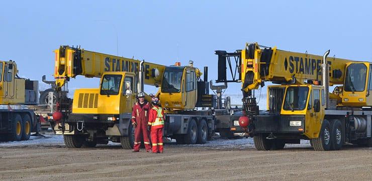 Crane Operator Opening Stampede Crane Lethbridge