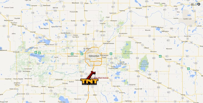 TNT Crane and Rigging announces new leduc ab branch