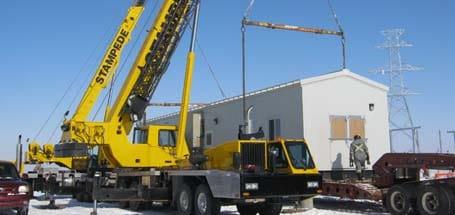 Oil & Gas Crane Services - Stampede Crane & Rigging
