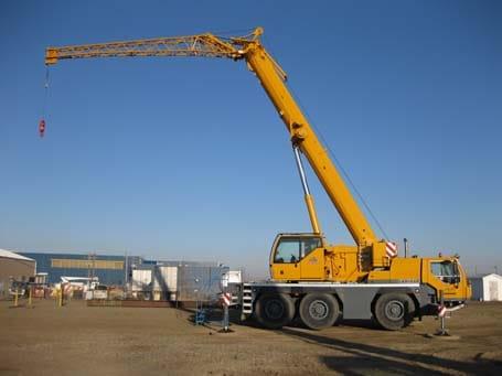 Rough Terrain Crane Services - Stampede Crane & Rigging
