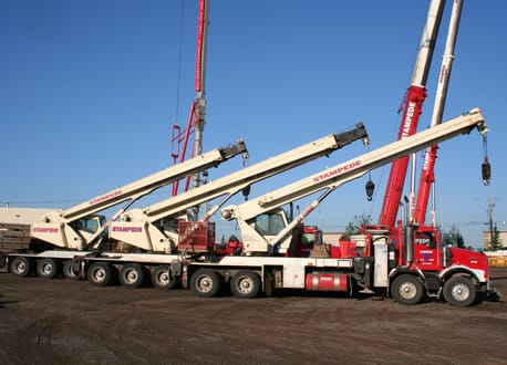 Mobile Crane Rentals, Cranes for Hire in Calgary & Southern